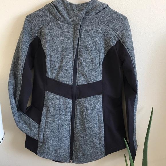 2654f776c221b 90 Degree By Reflex Jackets & Coats   Nwt Black Grey Marbled Jacket ...